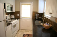 Full Kitchen with Custom Granite Countertops